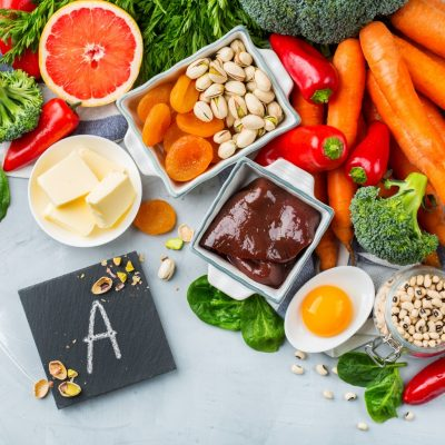 Lebensmittel reich an Vitamin A